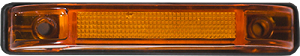"HD40106-3wire - 4"" Slim-Line Clearance Marker Light - 6 LED, 3 wire"