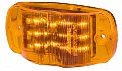MCL49A - Sealed Marker light for RVs, AMBER