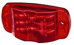 MCL49R - Sealed Marker light for RVs, RED